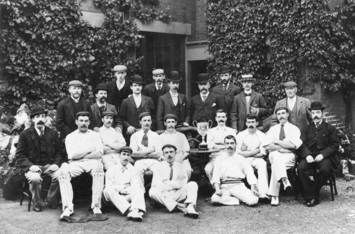 Manners Colliery Cricket Club 1898 - Image Courtesy of Ilkeston LIbrary