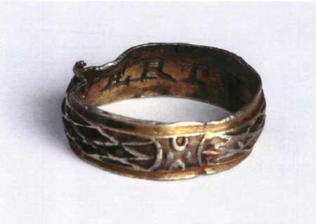 Posy ring from What Lies Beneath gallery
