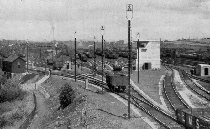 image of toton sidings railway lines