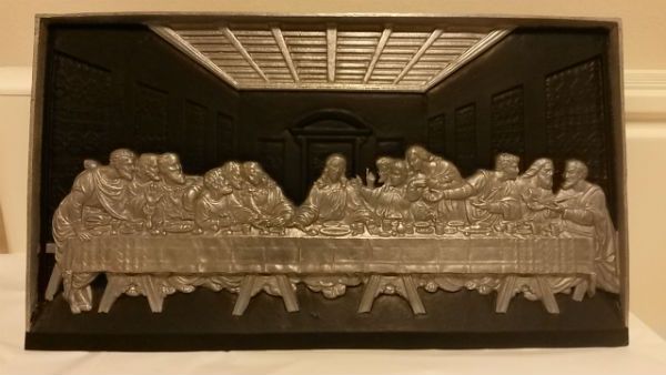 Last Supper casting in Erewash Museum collection